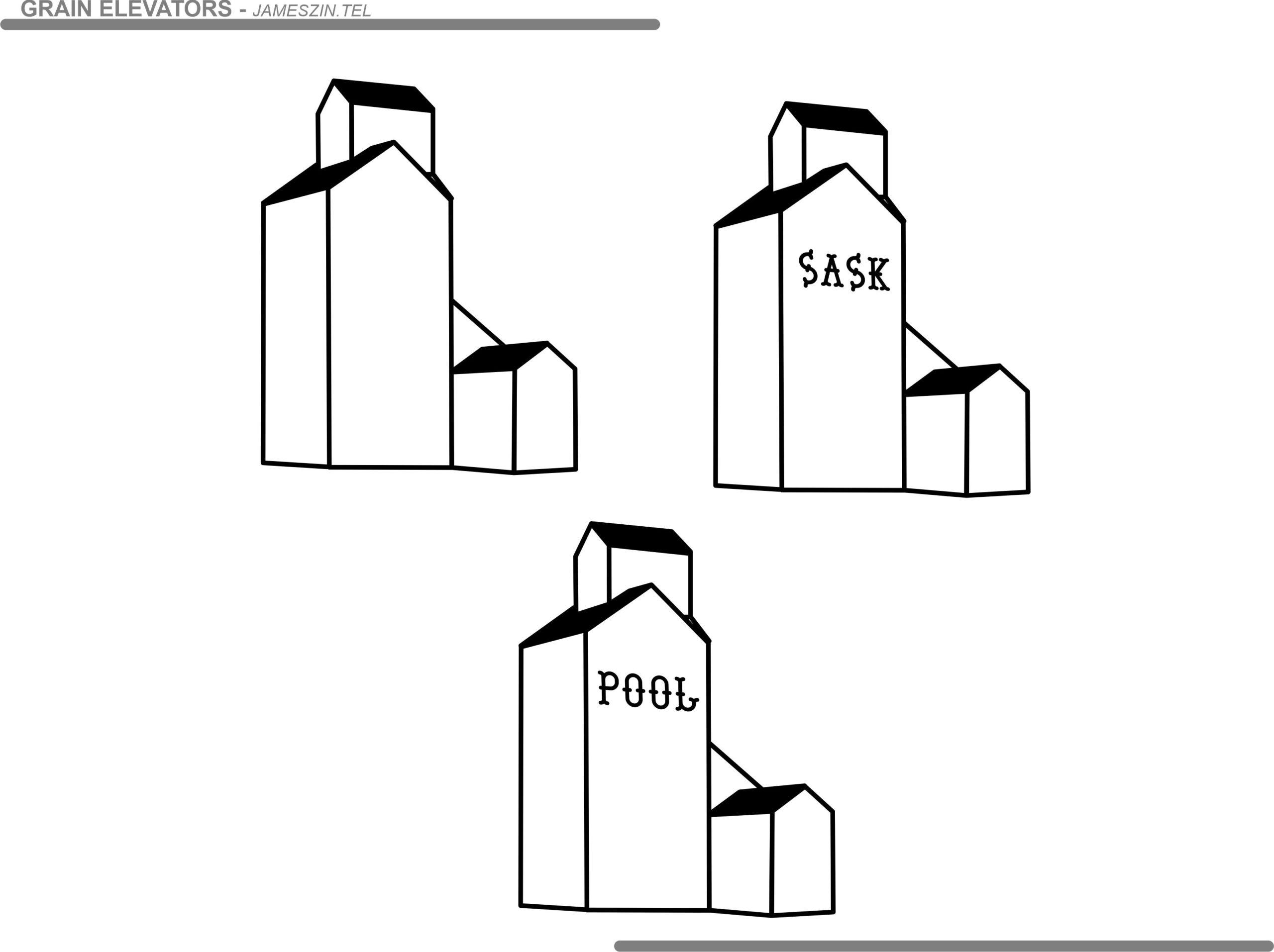 Grain Elevator Clip Art