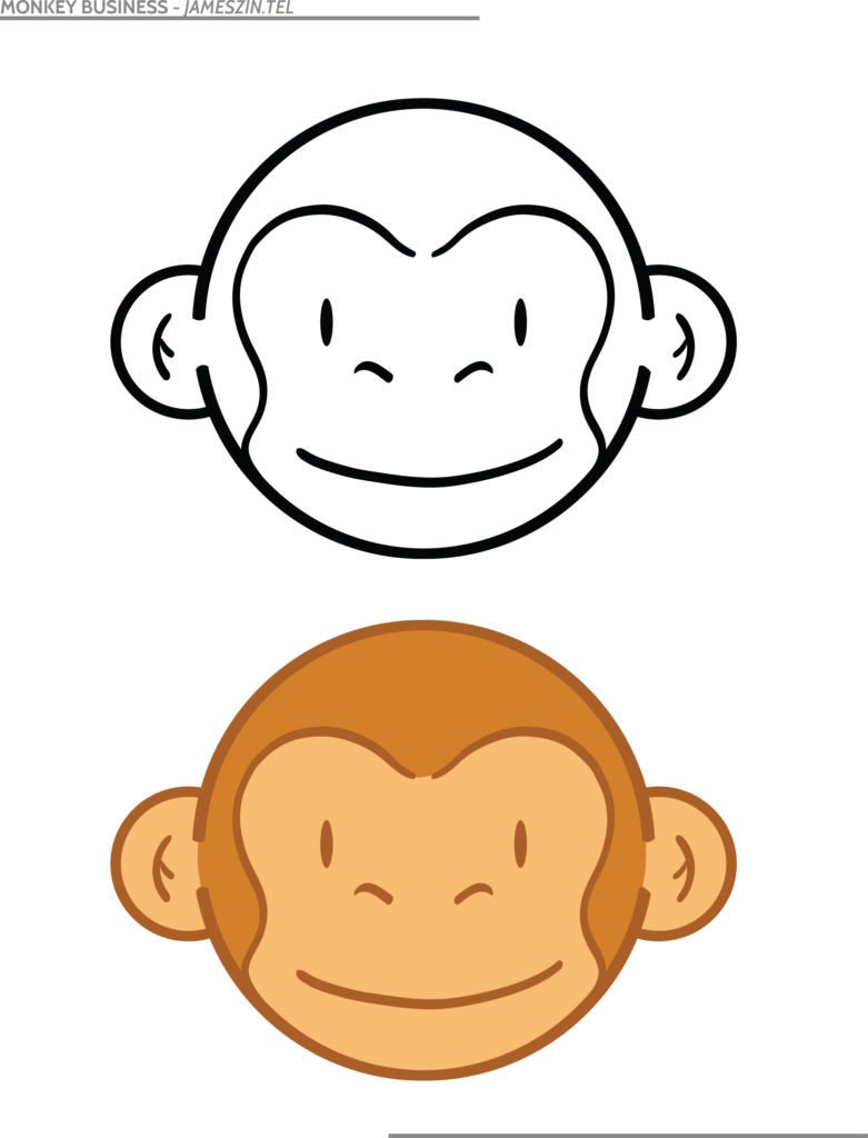 Monkey Business Clip Art